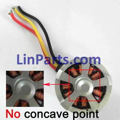 Cheerson CX-20 quadcopter Spare Parts: Brushless motor[No concave point]